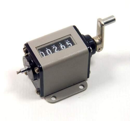 VEEDER-ROOT - 727235-006 - Small Stroke Mechanical Revolution Counter 5-Digit.