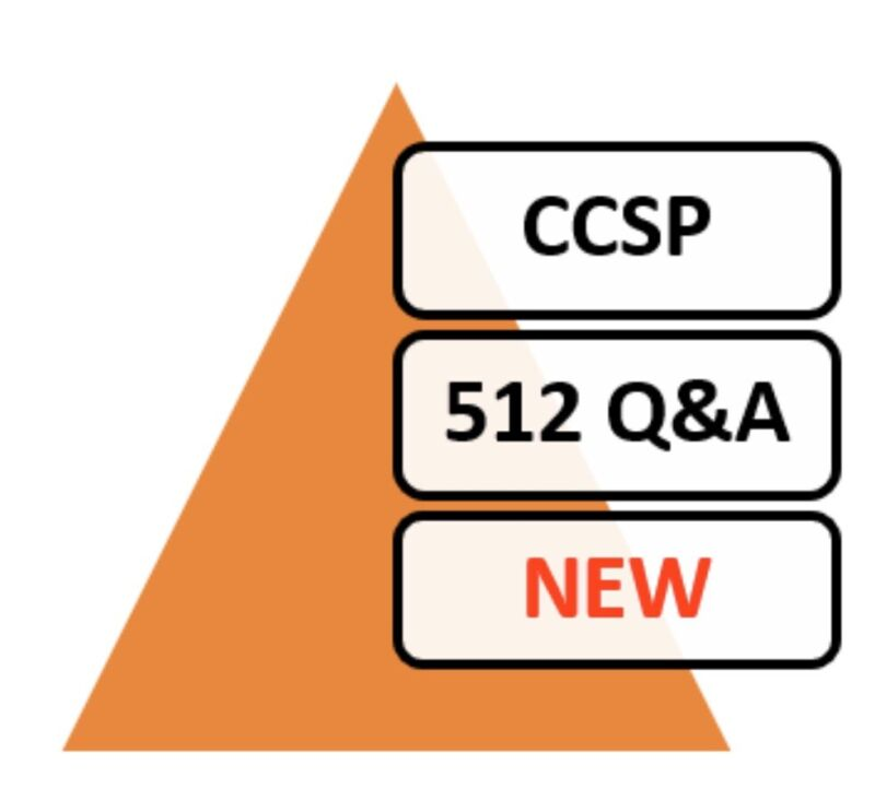 Updated 2020 ISC2 Certified Cloud Security Professional Exam CCSP 512 Q&A PDF