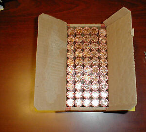 50 Roll Box of 2014 Lincoln 25 P 25 D Penny Cent Shield * Free Priority Shipping