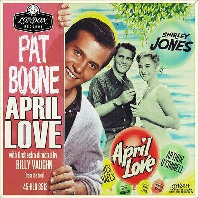 "7"" PAT BOONE April Love OST SHIRLEY JONES ORCH.BILLY VAUGHN LONDON UK-Press 1957"