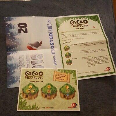 Cacao - chocolate huts - Promo - Brettspiel Advent Calendar 2016 #20
