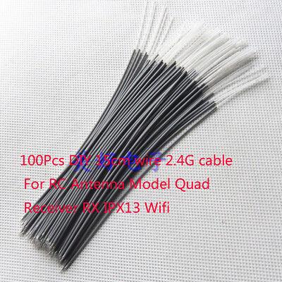 - 100Pcs DIY 15cm wire 2.4G cable For RC Antenna Wifi Quad Receiver RX Futaba JR