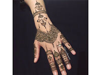 Self taught professional henna artist