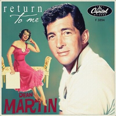 "7"" DEAN MARTIN Return To Me / Forgetting You CAPITOL 45rpm German-Press 1958"