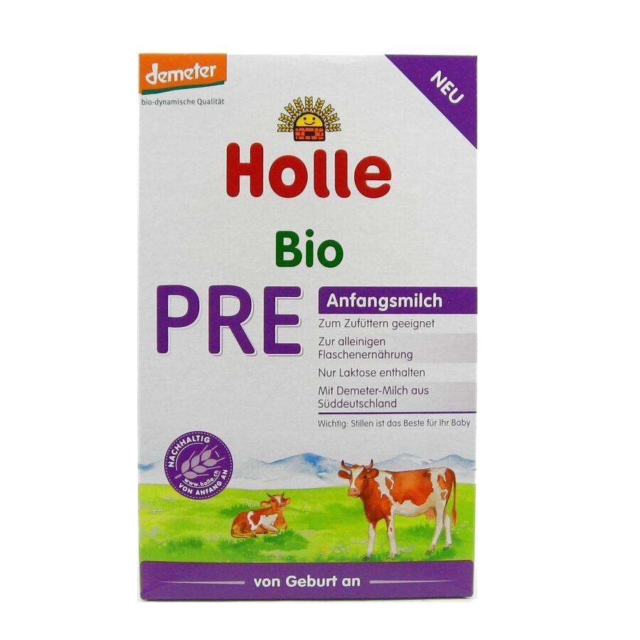 (19,88/100g) Holle PRE Anfangsmilch von Geburt an bio 400 g