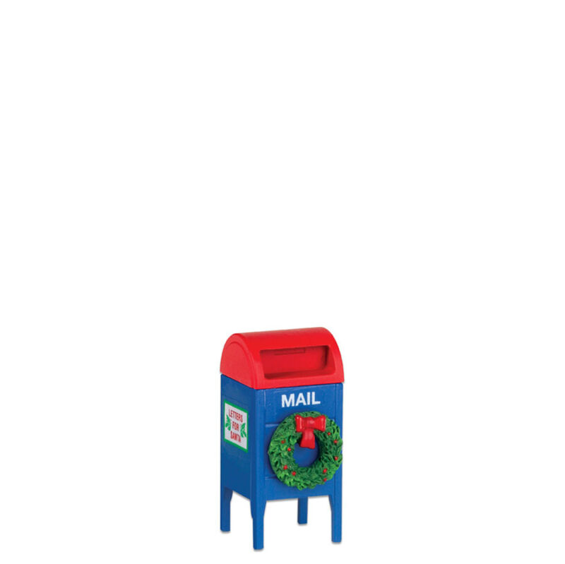 Dept 56 Lot of 2 VILLAGE POST BOX 800018  D56 NEW Christmas Accessory