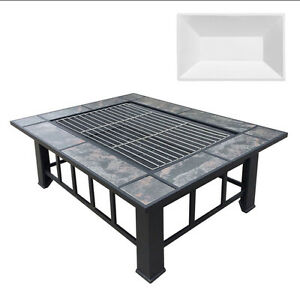 Outdoor Fire Pit BBQ Table Grill Fireplace with Ice Tray Perth Perth City Area Preview