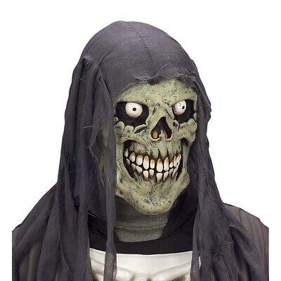 KINDER TOTENKOPF MASKE Halloween Skelett Sensenmann Tod Jungen - Skelett Kopf Kostüm