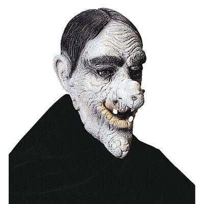 ALTER MANN LATEX MASKE Halloween Opa Warzen Zombie Großvater Kostüm Party 4598-4