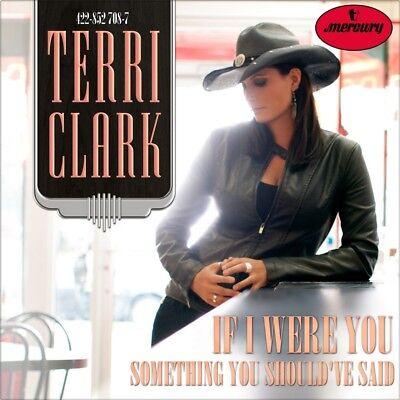 "7"" TERRI CLARK If I Were You / Something You Should've Said MERCURY Country 1995"