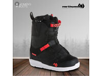 Ladies snowboard boots size uk 5 RRP £180