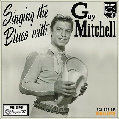"7"" GUY MITCHELL Singing The Blues RAY CONNIFF PHILIPS MINIGROOVE 1956 NEUWERTIG!"