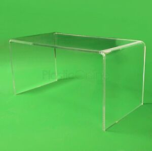 Clear Acrylic Plastic Table, Coffee Table Quality 12mm Acrylic Made In The UK