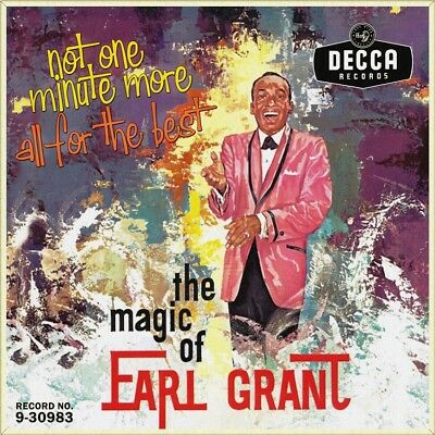 "7"" EARL GRANT Not One Minute More b/w All For The Best DECCA USA 1959 like NEW!"