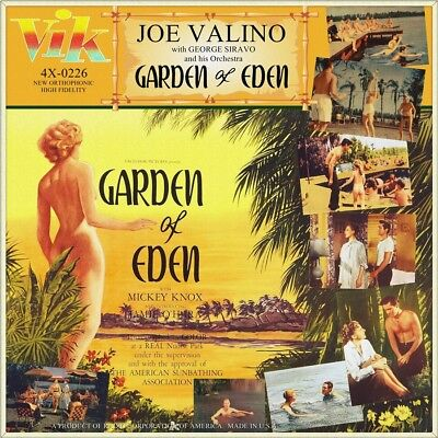 "7"" JOE VALINO & GEORGE SIRAVO Garden Of Eden 1954 MICKEY KNOX OST VIK USA 1956"