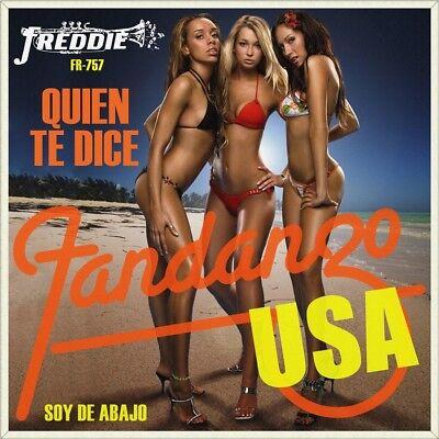 """7"""" FANDANGO U.S.A. Quien te dice / Soy de abajo FREDDIE Tex-Mex Tejano USA 1994"""