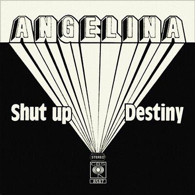 "7"" ANGELINA GALLOWS POLE Shut Up! / Destiny CBS Austropop Austrian Hardrock 1980"