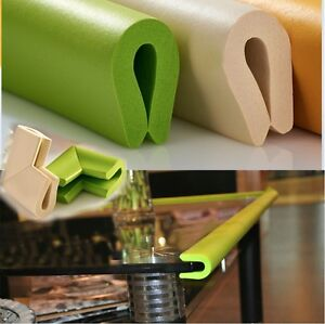 glass table edge guard 4 corne r cushion softener bumper baby safety protector. Black Bedroom Furniture Sets. Home Design Ideas
