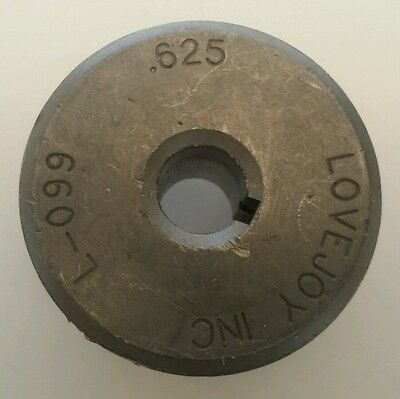 Lovejoy L-099 Coupling Hub .625 58 Boar 316 Keyway Part 11336