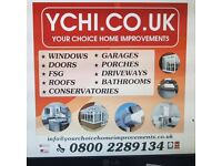 Home Improvement Services, Windows, Doors, Canopies, Porches, Garages, FSG and Driveways