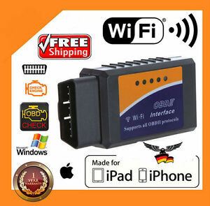 ELM327 WiFi OBD2 OBDII Car Diagnostic Scanner Code Reader Tool for iOS&Android $