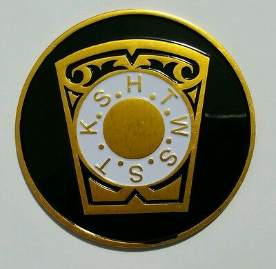 Royal Arch HRAM Key-Stone Car Emblem - Royal Arches Collection