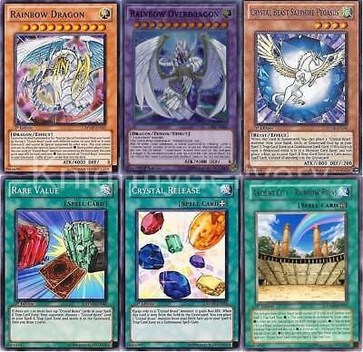 Jesse Anderson New Deck - Rainbow Dragon - Crystal Pegasus - Overdragon 41 Cards