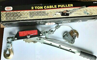 New 2 Ton Cable Puller Iit Brand Part 51400 Weight 5 Lb
