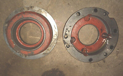 Farmall 706 806 Tractor Ih Ihc Main Rearend Differential Holder Bracket Shims