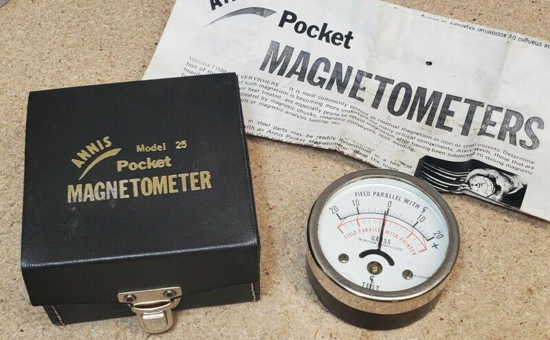 R.B. Annis pocket magnetometer - Model 25