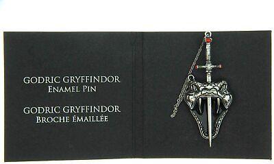 Loot Crate Wizarding World Harry Potter Godric Gryffindor sword Nagini snake pin