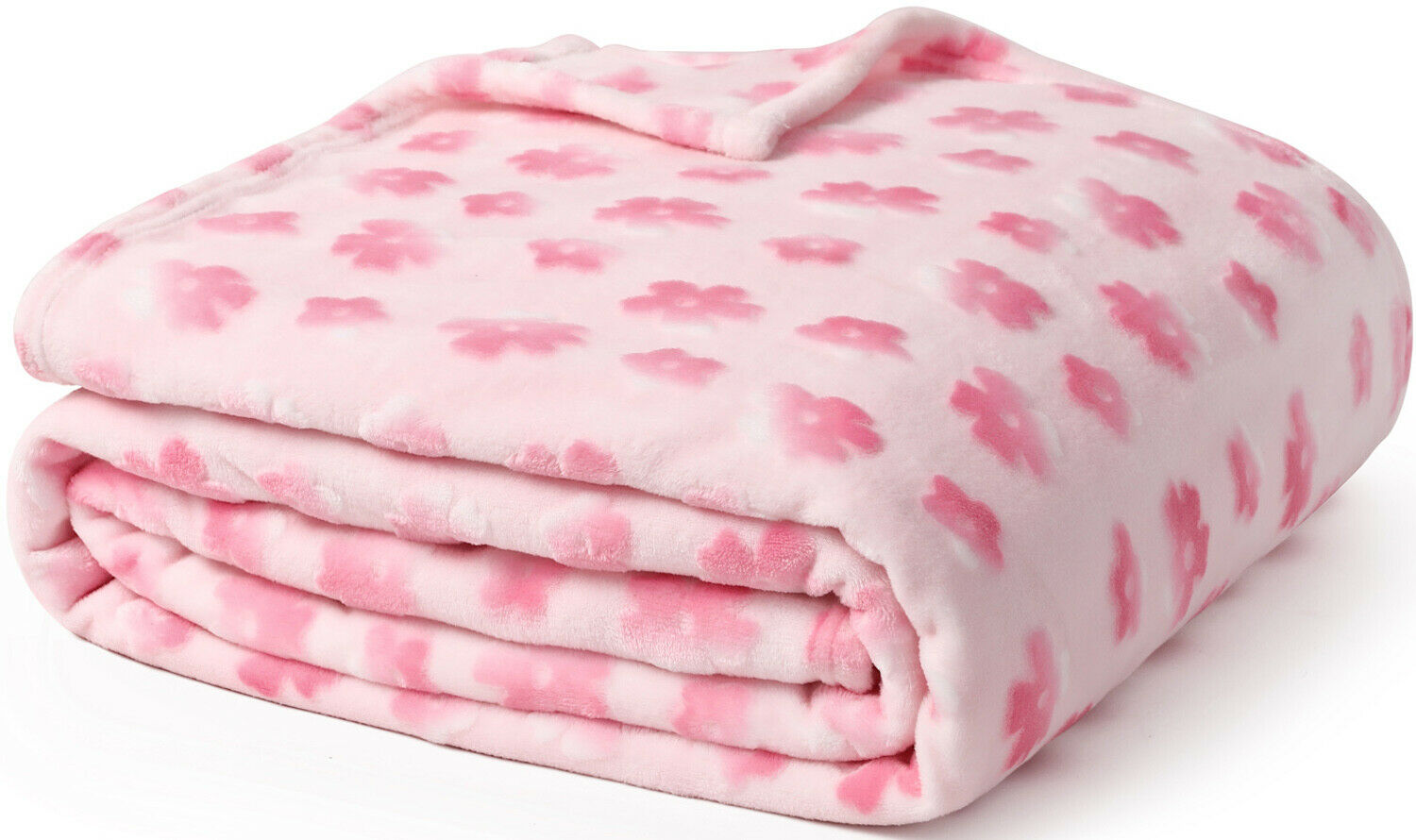 Sedona House Covered Flannel Blanket, Ombre Pattern, Twin Si