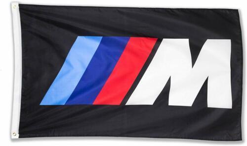 BMW M Logo IIIM Racing Car Large Garage Decor Banner