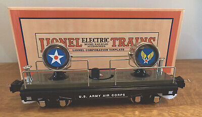 MTH 11-70080 Lionel Corp Tinplate 2800 O-Gauge Floodlight Car US Army Air Corps