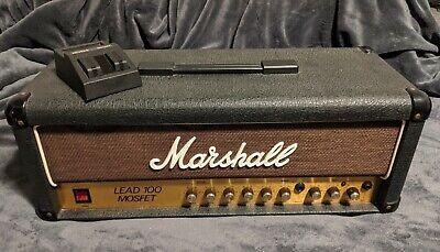 Marshall Lead 100 Mosfet Guitar Head Solid State Vintage