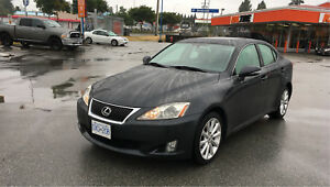 2009 Lexus IS250 AWD 6A fully loaded