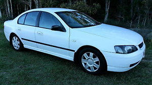 2002 Ford Falcon Sedan Caboolture South Caboolture Area Preview