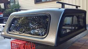 TOYOTA HILUX SR SR5 DUAL CAB ARB CANOPY + HD RACKS GRAPHITE 1G3 Yagoona Bankstown Area Preview