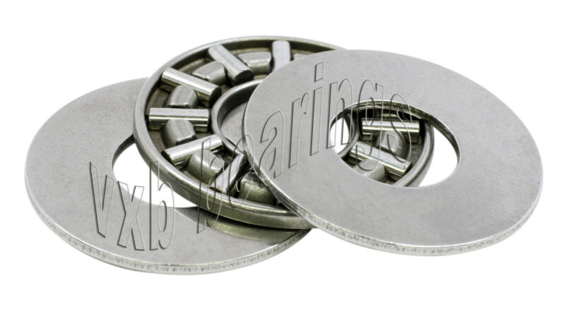 "Thrust Needle Roller Bearing 1/2""x 15/16""x 9/64"" inch Low Profile Thin/Slim Ring"
