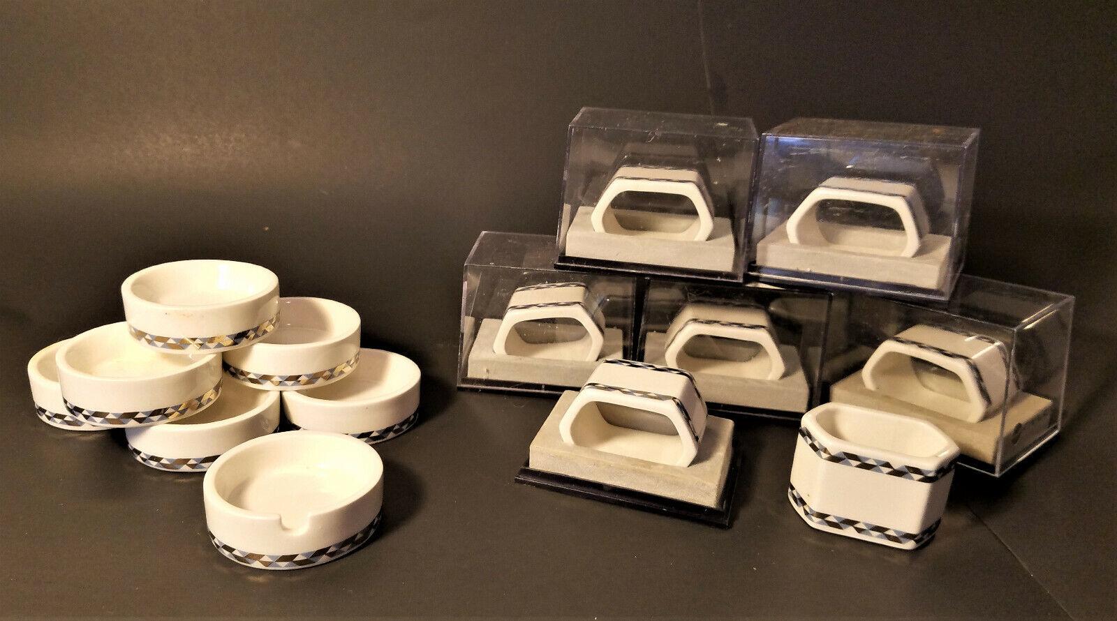 finland finnair first class porcelain napkin ring