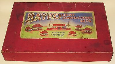 Bayko Outfit 3 Pre War Light Constructional Set RARE MINT Boxed