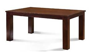 LARGE SOLID TEAK TIMBER DINING TABLE EXCELLENT LIKE-NEW CONDITION Taren Point Sutherland Area Preview
