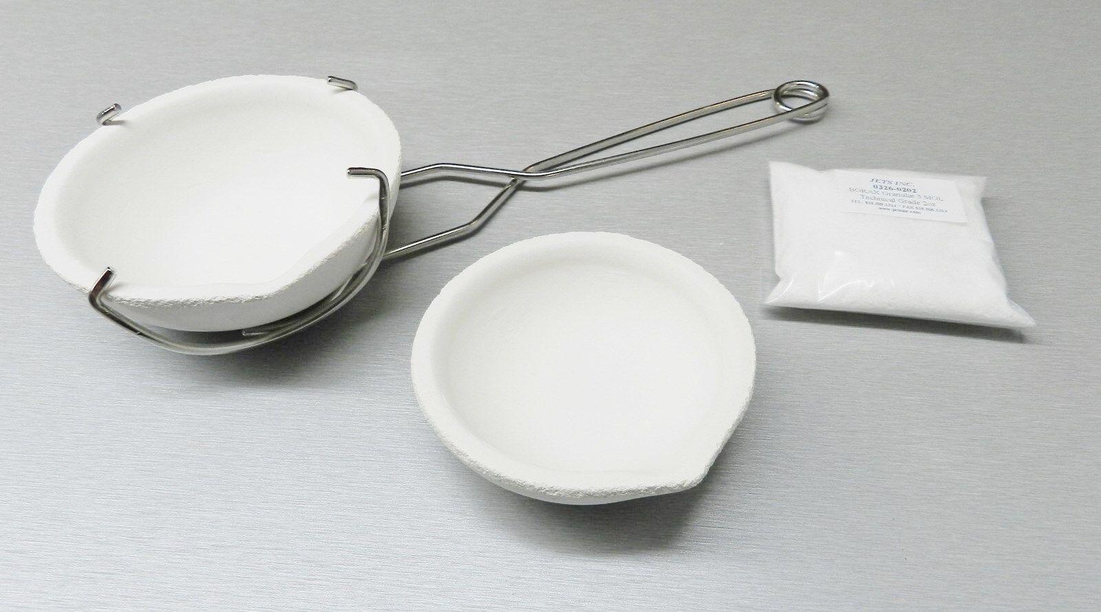 Тигель для плавки серебра