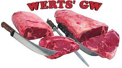 Sixteen 12 oz. Steak Grilling Combo-8 New York Strip & 8 Rib Eye Steaks-Nebraska