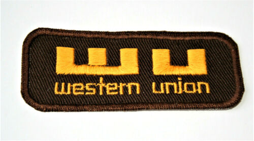 Vintage WU Western Union Payments Company Patch New NOS 1970s