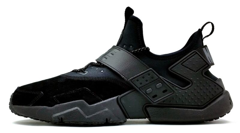 100% authentic 72178 f99aa Nike Air Huarache Drift Premium NEW Men s Running Shoes Black AH7335 001