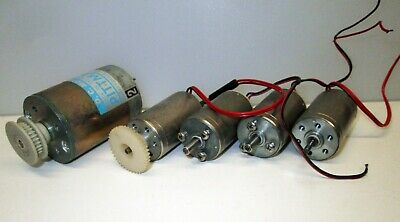Lot Of 5 12vdc Motors 4 Portescap 26 Series 1 Pittman Alltestrungreat