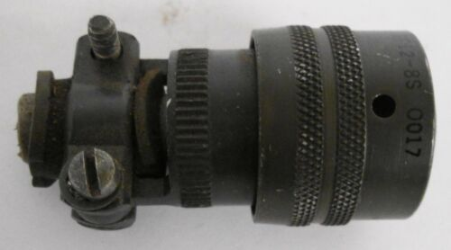 Amphenol MS3116F12-8S 0017 8-Pin Circular Connector