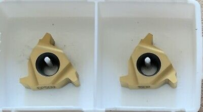 Seco Insert Snap-tap Threading Cp500 Carboloy 16er 8 Acme 49958 2-pack New