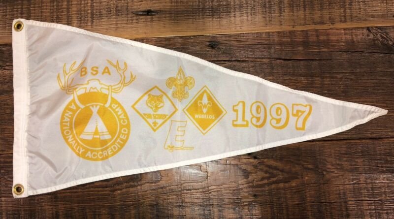 Boy Scout National Camp Accredited Banner 1997